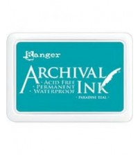 Ink-Archival Ink Pads- Paradise Teal