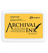 Ink-Archival Ink Pads- Buttercup
