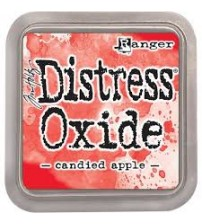 Ink-Distress Oxide Pads- Candied Apple