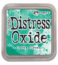 Ink-Distress Oxide Pads- Lucky Clover