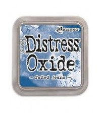 Ink-Distress Oxide Pads- Faded Jeans