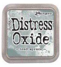 Ink-Distress Oxide Pads- Iced Spruce
