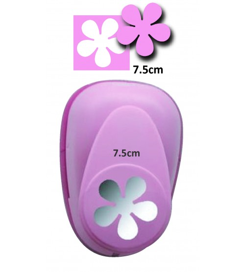 Efco Flower Punches - 7.5cm
