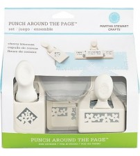 Martha Stewart - Punches  Around The Page Set - Cherry Blossom