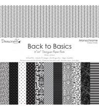 Dovecraft - Monochrome - Scrapbook Paper Pad