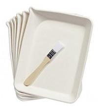 Martha Stewart- Crafts Glittering Trays And Brush Tools