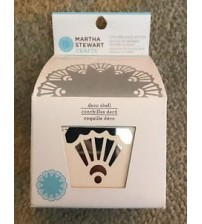 Martha Stewart - Circle Edge Punches  Cartridge - Deco Shell