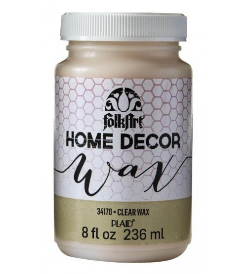 FolkArt-Home Decor - Clear Wax