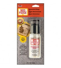 Mod Podge-Silver Glitter - Dimensional Magic - 2 oz