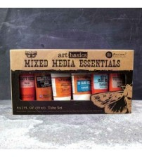 Prima - Medium & paste - Mixed Media Essentials (6 - 2oz tubes assortment)