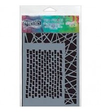 Stencils - Dylusions - Staggered Brickwork Small