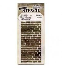 Stencils-Tim Holtz Layering Stencil: Bricked