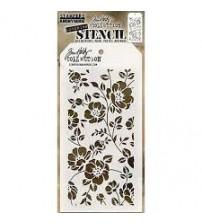 Stencils-Tim Holtz Layering Stencil: Floral