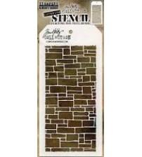 Stencils-Tim Holtz Layering Stencil: Slate