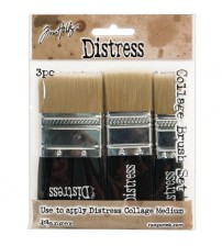 Tool-Distress Collage Set of 3 Brushes