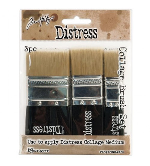 Tools - Distress Collage Set of 3 Brushes