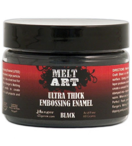 MELT ART - ULTRA THICK - EMBOSSING ENAMEL (BLACK)