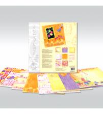 URSUS - Birthday - Glitter Scrapbook Paper