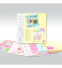 URSUS - Spring - Glitter Scrapbook Paper
