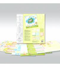 URSUS - Easter - Glitter Scrapbook Paper