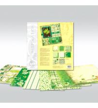 URSUS - Good Luck - Glitter Scrapbook Paper
