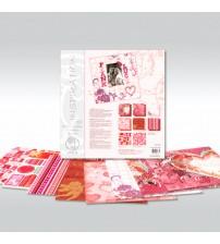 URSUS - Love - Glitter Scrapbook Paper