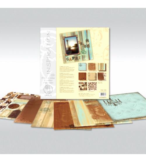 URSUS - Nostalgia - Glitter Scrapbook Paper