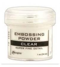 Medium & Paste-Embossing Powder Super Fine Clear
