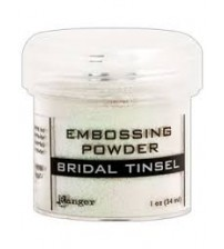Medium & Paste-Embossing Powder -Bridal Tinsel