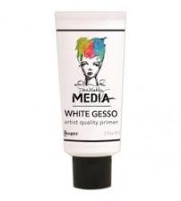 Dina Wakley Media - Gesso - White - 2oz Tube