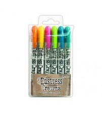 Crayons-Distress Crayon Set #1
