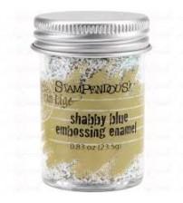 Stampendous Frantage- Shabby Blue Emboss Enamel