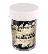 Stampendous- Deep Impressions Chunky Embossing Enamel Black