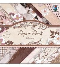 URSUS - Vintage Blooming Scrapbook Paper Pad