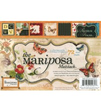DCWV - The Mariposa Mat Stack Scrapbook Paper Pad