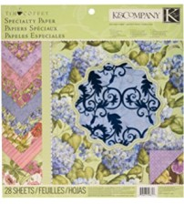 K & Company - Cottage Garden Scrapbook Paper Pad
