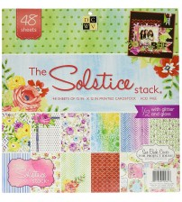 DCWV - The Solstice Stack Scrapbook Paper Pad