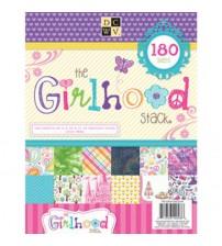 DCWV - The Girlhood Stack Scrapbook Paper Pad