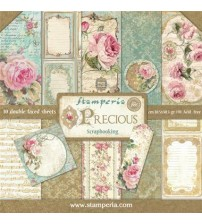 "Stamperia- Precious 12""×12"" Scrapbook Papers"