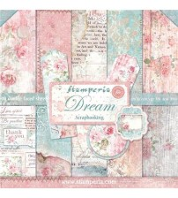 "Stamperia-Dream 12""×12"" Scrapbook Papers"