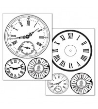 Stamperia Transfer Paper - CLOCKS
