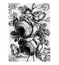 Decoupage Stamperia - A4 Rice Paper - Roses1 - 21X29cms