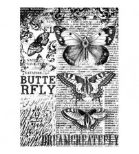 Decoupage Stamperia - A4 Rice Paper - Butterfly - 21X29cms