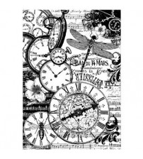 Decoupage Stamperia - A4 Rice Paper - Vintage Clocks - 21X29cms