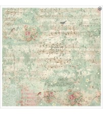 Decoupage Stamperia - Rice Paper - Sweet Christmas Music & Sparrow - 50x50cms