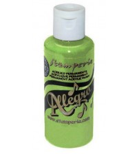 Decoupage Stamperia Allegro - Acrylic Paint - Light Green 59ml
