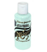Decoupage Stamperia Allegro - Acrylic Paint - Lightest Blue 59ml