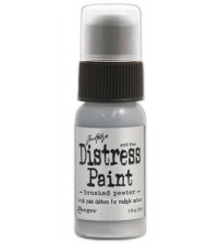 Ranger Distress Paint - Brushed Pewter