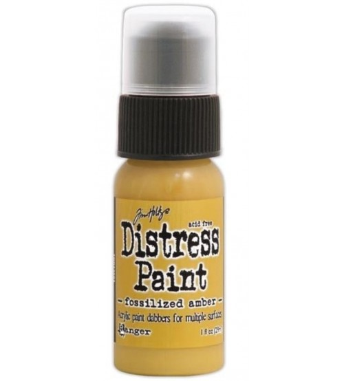 Ranger Distress Paint - Fossilized Amber