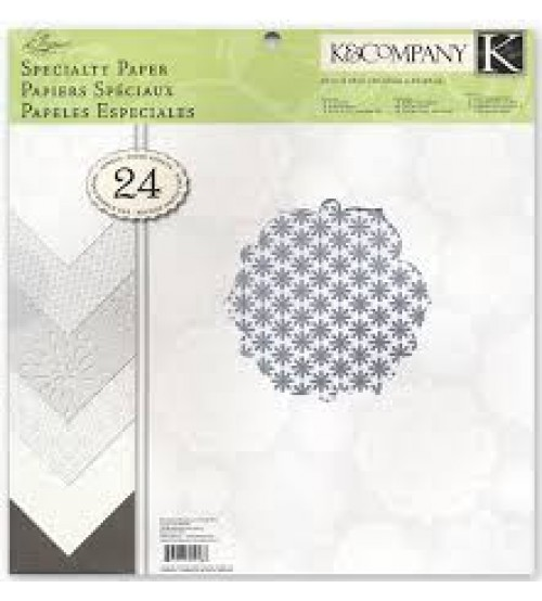 K & Company - Elegance Scrapbook Paper Pad